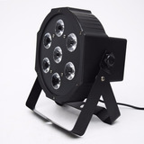 Luz Tacho Par Led Proton Rgb Audio Dmx Salon Dj Led P70