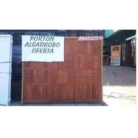 Porton Garage Algarrobo 2.40 X 2.03