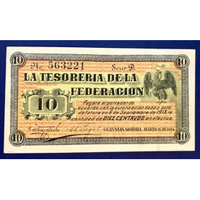 Billete Guaymas Sonora