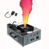 Máquina Humo Artificial Luces Led + Control Inalámbrico Dj