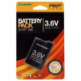 Bateria Recargable Par Psp 1000 Fat Nueva 2600 Mah Marca Kmd