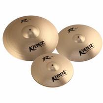 Kit Set Pratos 14/16/20 Krest R Series Com Bag - Oferta