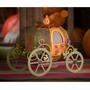 Carruagem 3d - Festa Princesa Cinderela - Arquivo Silhouette