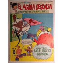 Cómic El Águila Descalza Presenta En Num.8 Ed.meridiano 1968