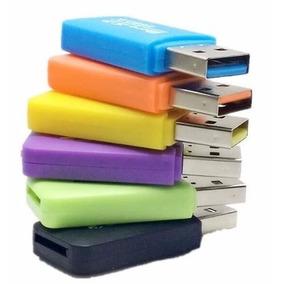 Lector De Memoria Adaptador Usb Tipo Pendrive Micro Sd