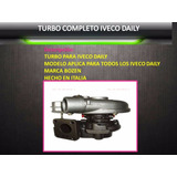 Turbo Completo Iveco Daily 59.12 60.12 40.12