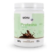 Proteína Vegetal Con Colág. Marino 500g Sabor Chocolate