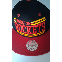 Gorra Mitchell & Ness Houston Rockets Snapback $455 Pesos
