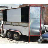 Vendo Remolque Cerrado Tipo Food Truck Doble Eje Cambio Auto