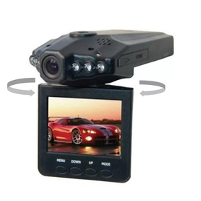 Camera Filmadora Veicular Vga Dvr Espiã Web Cam Visão Noturn