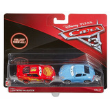 Disney Pixar Cars 3 Pack Rayo Mcqueen & Sally