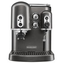 Cafetera Expresso Kitchenaid Plateada 2 Calderas 220v