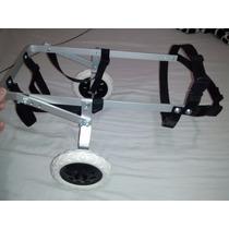Mini Cadeira De Rodas Para Cachorros Pequenos De 3,5 A 8 Kg