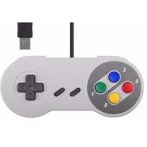 Promoção Joystick Controle Usb Super Nintendo Snes Game Ps4