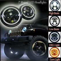 Faros Led Jeep Angel Eyes Cambio X Ps4 O Ipad Air 2