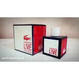 Perfume Lacoste Live Edt Pour Homme 100 Ml Oferta !!!