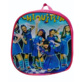 Bolsa Lancheira Marmiteira Infantil Escolar Chiquititas