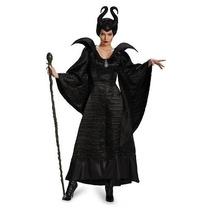 Disfraz Malefica Mujer Solo Talla S Importado De Usa