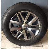 Roda Hilux Aro 18 + Pneu Bridgestone 265/60/18 Original Nova
