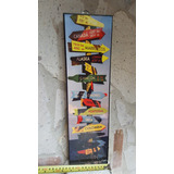 Cuadro Vintage Coleccionable Flechas Paises Señalamientos