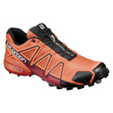 Tenis Hombre Salomon Trail Running Speedcross 4 Naranja