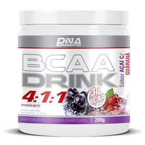 Bcaa Drink 4:1:1 200g Acai C/ Guaraná - Dna Suplementos
