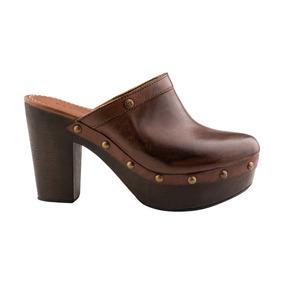 Efe Zapatos Suecos Tacon Estoperoles Piel Vestir 2512551