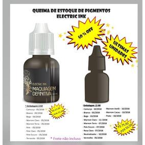 Pigmento Electric Ink Para Micro Pigmentação 15ml