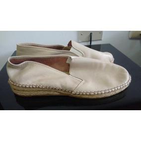 Cocuiza Cuero Alpargata Zapatos Sandalias Botas Talla 40