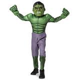 Disfraz Disney Store El Increíble Hulk Máscara Talle 7/8