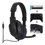 Fone Gamer Ps4 X-one Headphone Microfone Pc Celular P3