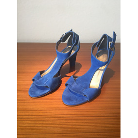 Sapato Feminino Sandália Importada Azul Gloria Ortiz 37