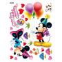 Calcomania Mickey Y Mimi Para Decoración En Pared