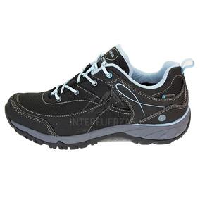 Zapatillas Mujer Hi-tec Impermeables Equilibrio Trekking