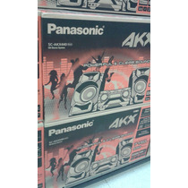 Equipo De Sonido Panasonic Scakx440