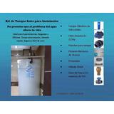 Tanque De Agua Cilíndrico Sistema Completo Ideal Apartamento