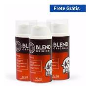 3 Blend Original 30ml Barba De Respeito Crescimento Falhas