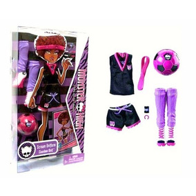 Roupa Clawdeen Uniforme Fear Squad Pack Monster High