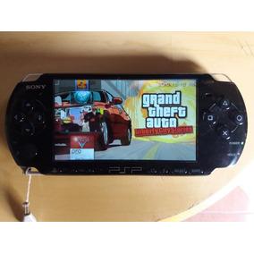 Playstation Sony Psp 3001 Usado Desbloqueado Com Cartão 16gb