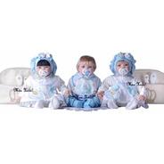 3 Bebê Reborn Trigêmeas  - Meu Xodó