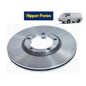 Par Disco De Freio Dianteiro Hyundai H100 Original Hipper