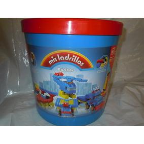 Mis Ladrillos -balde Grande Basicos 320 Pzas.-el Clasico -