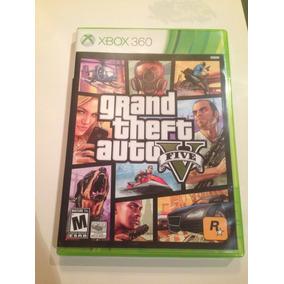 Xbox 360 Grand Theft Auto 5 Version Ingles (comprado En Usa)