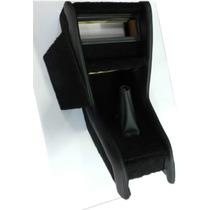 Console Preto De Carpete Com Courvim Do Fusca (porta Som)