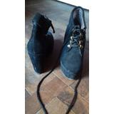 Zapatos Mujer Cerrado Con Cordones