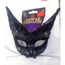 Antifaz Carnaval Rev Gata