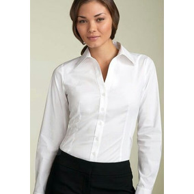 Camisa Blanca Ejecutiva De Vestir