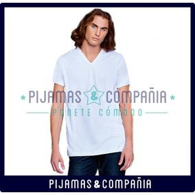 Camiseta Hombre V Tres Ases Interlock Invierno Talle 46-48