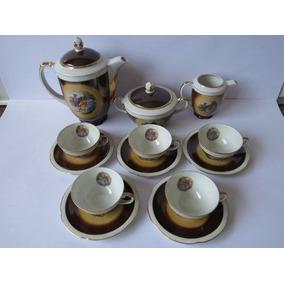 Jogo De Porcelana Polonês Motivo Luis Xv Antigo