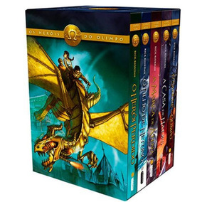 Box Heróis Do Olimpo 5 Livros - Novos Lacrados Frete Grátis